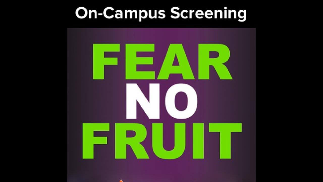 Fear No Fruit flyer